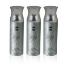 EVOKE SILVER FOR MEN DEODORANT 3 IN 1 PACK