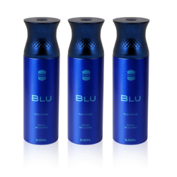 Blu Deodorant for Men - 3 In 1 Pack